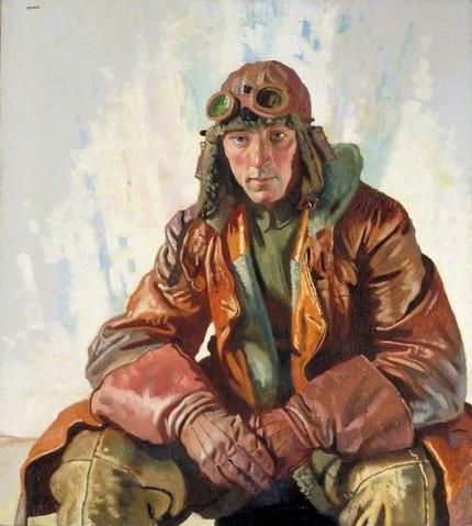 """William Orpen - """"Flight Sergeant"""""""