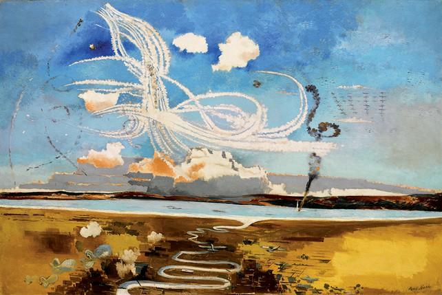 "Paul Nash - ""Battle of Britain"""