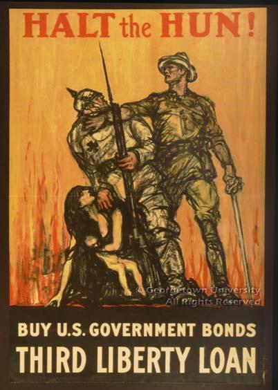 Affiche américaine chevaleresque de recrutement