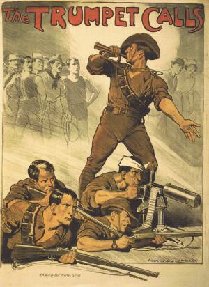 Affiche australienne de recrutement